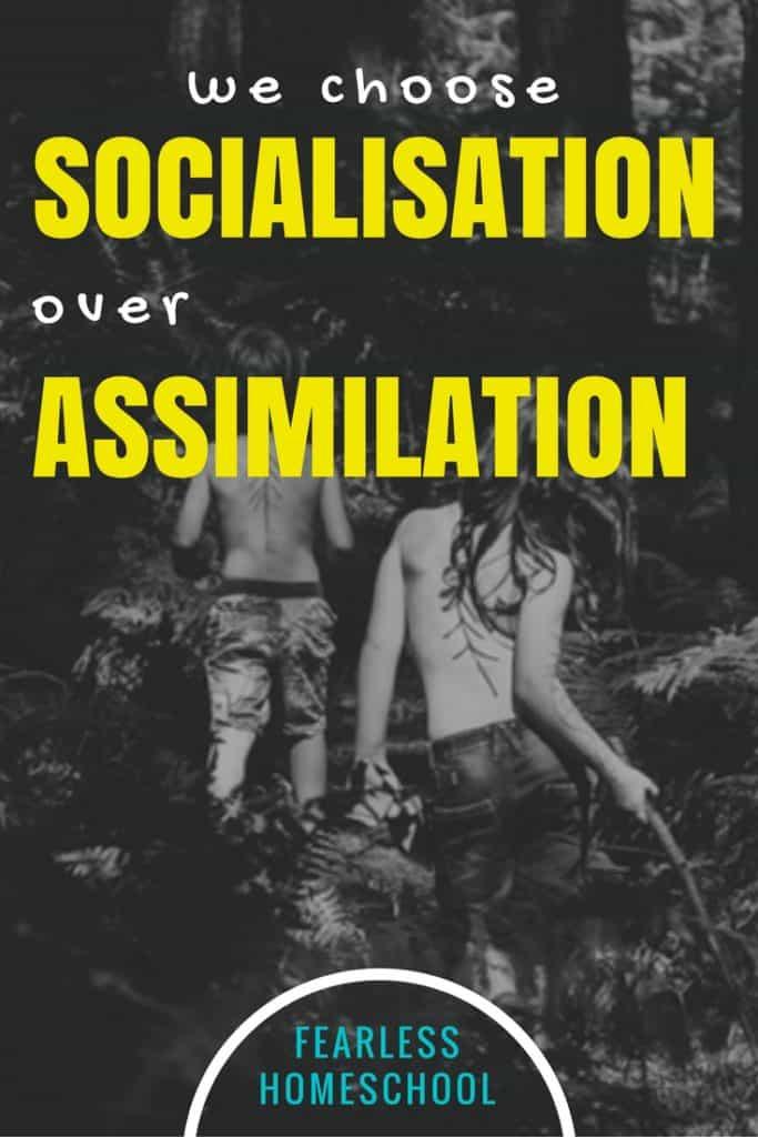 Homeschoolers choose socialisation over assimilation-Fearless Homeschool