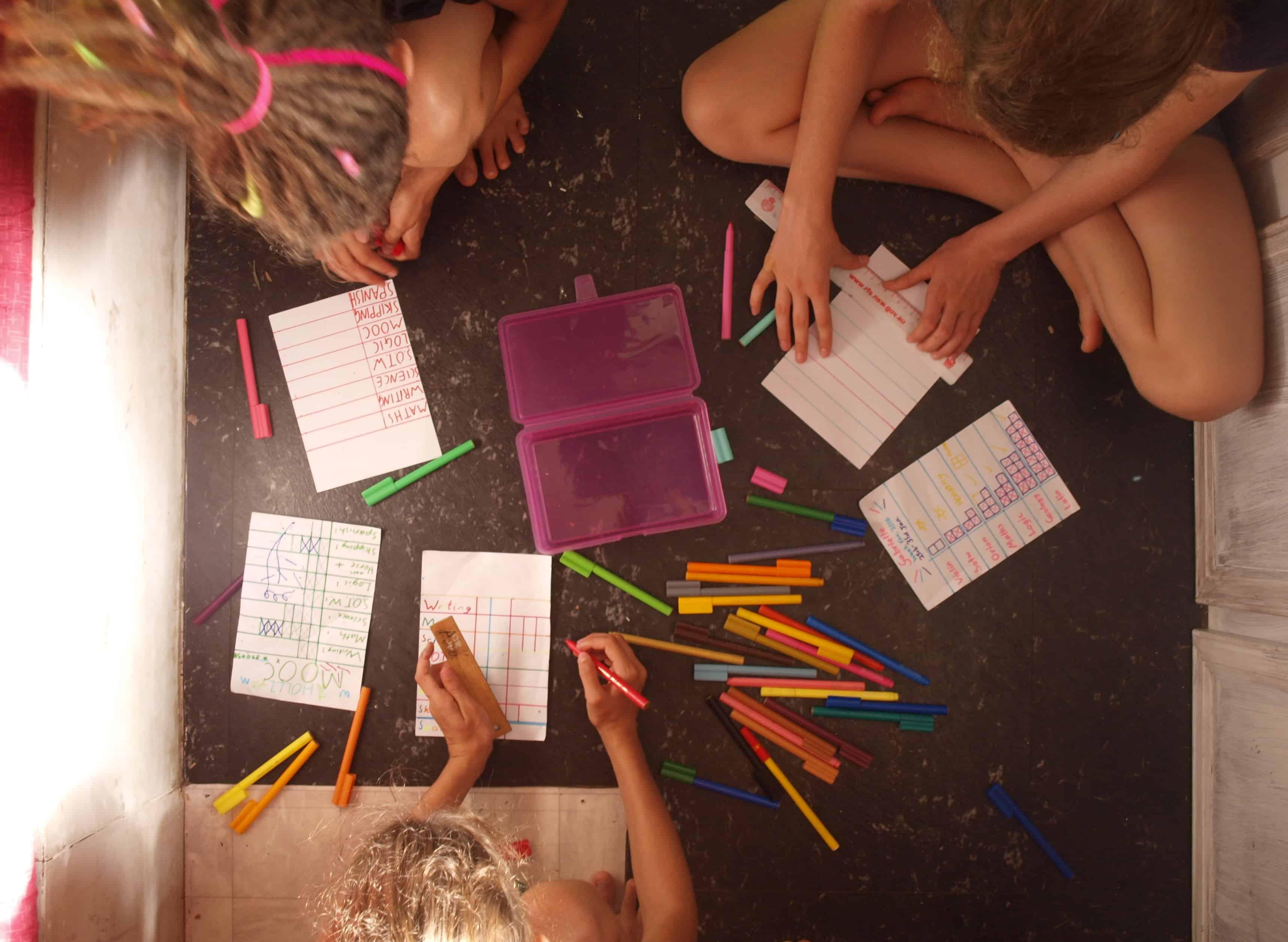 Making Homeschooling Lists