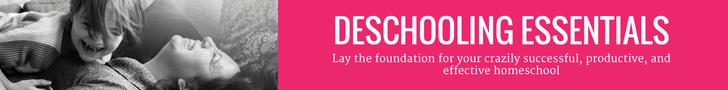 Deschooling Essentials invite