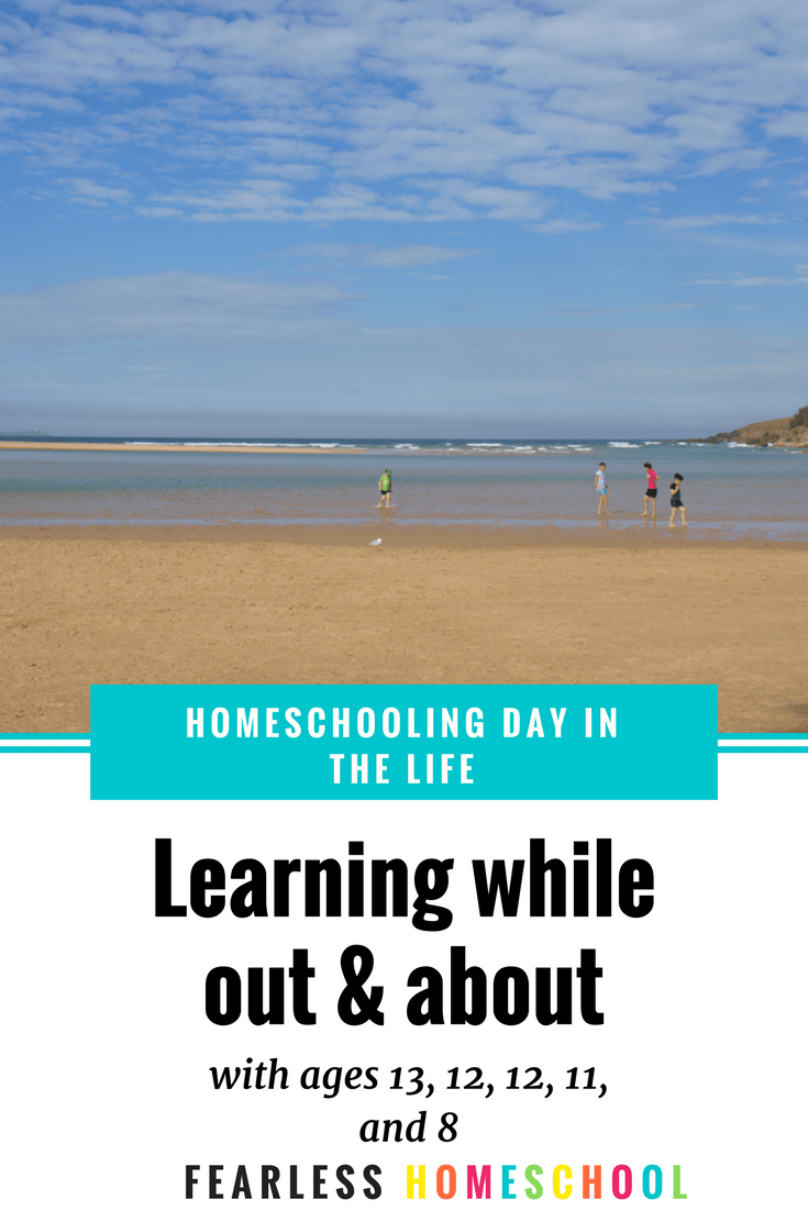 Homeschoolers aren't always at home – a homeschooling day in the life