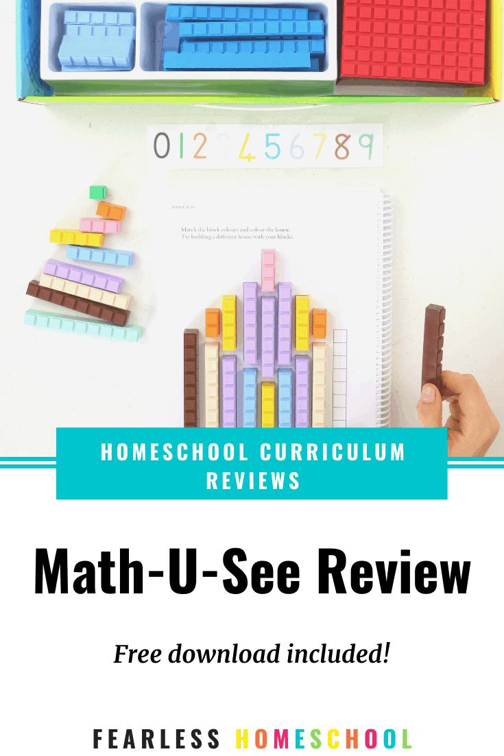 Math-U-See review - Australian Homeschooling Maths Curriculum