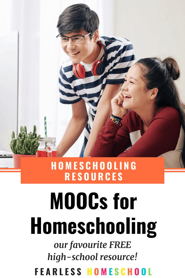 MOOCs - a fantastic free homeschooling high school resource!