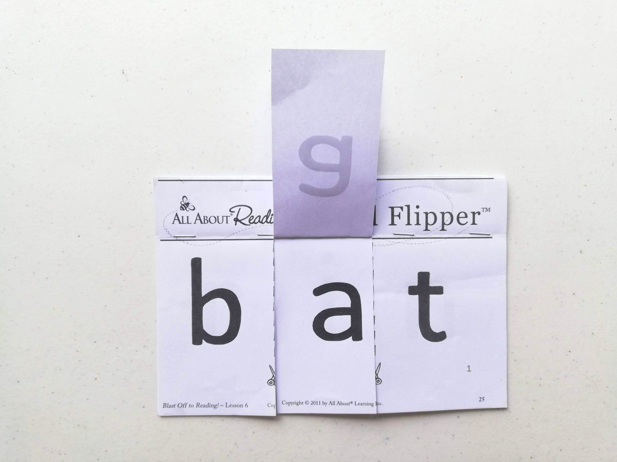 All About Reading Reading word flipper - student packet