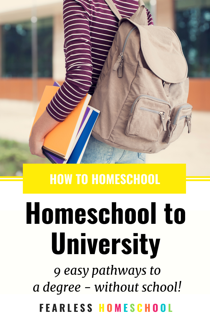Homeschool to university in Australia - 9 easy pathways to a degree without school