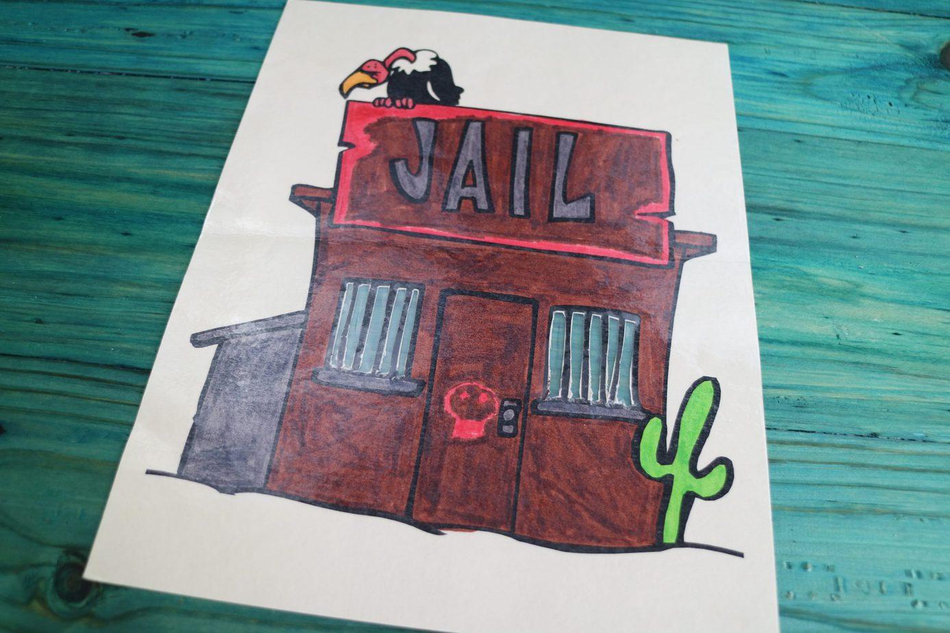 All About Spelling rule breakers word jail